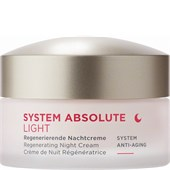 ANNEMARIE BÖRLIND - SYSTEM ABSOLUTE  - Anti-Aging Nachtcreme Light