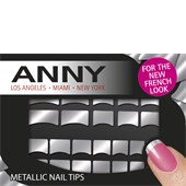 ANNY - Nail Polish - Metallic Nail Tips