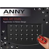 ANNY - Nagellack - Nail Art Studs Black