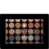 Absolute New York - Augen - Icon Pro Palette Smoke & Mirror