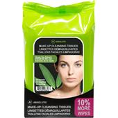 Absolute New York - Cura del viso - Make-up Cleansing Tissues Green Tea