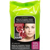 Absolute New York - Cura del viso - Make-up Cleansing Tissues Pomegranate