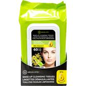 Absolute New York - Ansigtspleje - Make-up Cleansing Tissues Tea Tree