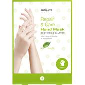 Absolute New York - Cura del corpo - Repair & Care Hand Mask Green Tea
