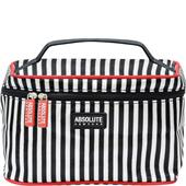 Absolute New York - Kosmetiktasker - Mono Stripe Satin