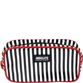 Absolute New York - Make-uptasjes - Mono Stripe Satin Cosmetic Bag