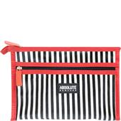 Absolute New York - Neceseres para cosméticos - Mono Stripe Satin Cosmetic Bag