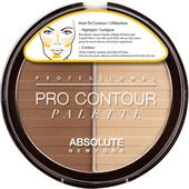 Absolute New York - Carnagione - Pro Contour Palette