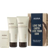 Ahava - Leave-On Deadsea Mud - Naturally Pure Mud Trio Geschenkset