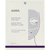 Ahava - Time To Clear - Purifying Mud Sheet Mask