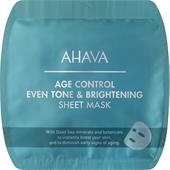 Ahava - Time To Smooth - Age Control Even Tone & Brightening Sheet Mask