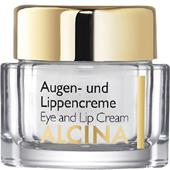 Alcina - Effect & Care - Eye and lip cream