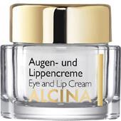 Alcina - Effect & verzorging - Oog- en lippencrème