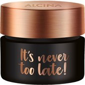 Alcina - Effet et soin - It's Never Too Late! It's Never Too Late!