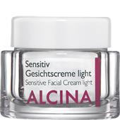 Alcina - Piel sensible - Crema facial para pieles sensibles Light