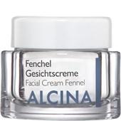 Alcina - Peau sèche - Crème pour visage Fenchel
