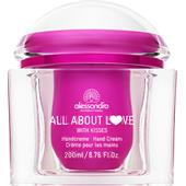 Alessandro - All About Love - Crema per le mani with Kisses