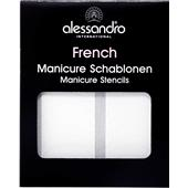 Alessandro - French Style - French Manicure Schablonen