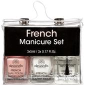 Alessandro - French Style - French Manicure Set Gift Set