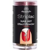 Alessandro - Peel-off nail polish - Limited Edition Nail Art Effect Powder - Glitter