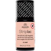 Alessandro - Striplac - Peel-Off UV / LED Nagellack CC Striplac