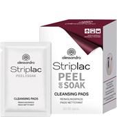 Alessandro - Peel-off nail polish - Reinigungstücher Set