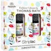 Alessandro - Peel-off nail polish - Thomas Rath Striplac Set