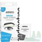 Andmetics - Strisce depilatorie - Eye Brow Stripes Men