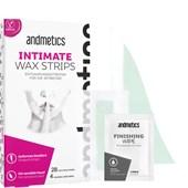 Andmetics - Wachsstreifen - Intimate Wax Strips