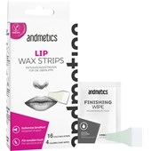 Andmetics - Wax Strips - Lip Stripes Women