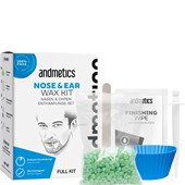 Andmetics - Voskové proužky - Nose & Ear Wax Kit