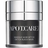 Apot.Care - Gesichtspflege - Detox Black Mask
