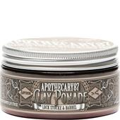 Apothecary87 - Hårstyling - Lock Stocke & Barrel clay Pomade