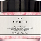 Avant - Age Protect + UV - Damascan Rose Petals Antioxidising & Retexturing Treatment Mask
