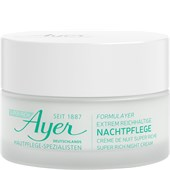 Ayer - Hydratatie - Super Rich Night Cream