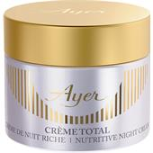 Ayer - Hidratación - Total Cream Nutritive Night Cream