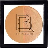BE + Radiance - Tónovací krém - Set + Glow  Probiotic Powder + Highlighter