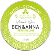 BEN&ANNA - Deodorant cream - Natural Deodorant Cream Persian Lime