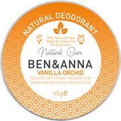 BEN&ANNA - Deodorant cream - Natural Deodorant Cream Vanilla Orchid
