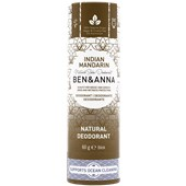 BEN&ANNA - Deodorant PaperStick - Natural Deodorant Stick Indian Mandarine