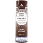 BEN&ANNA - Deodorant PaperStick - Natural Deodorant Stick Nordic Timber