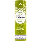 BEN&ANNA - Deodorant PaperStick - Natural Deodorant Stick Persian Lime