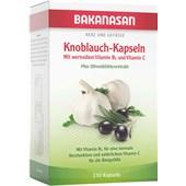Bakanasan - Herz-Kreislauf und Durchblutung - Knoblauch-Kapseln plus Olive und Weißdorn