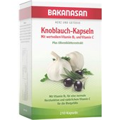 Bakanasan - The Cardio-Vascular System and Circulation - Garlic Capsules plus Olive and Hawthorn