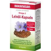 Bakanasan - Herz-Kreislauf und Durchblutung - Omega 3 Leinöl-Kapseln