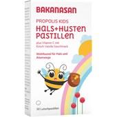 Bakanasan - Immune System and Colds - Propolis Throat Lozenges Kids