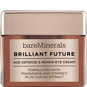 bareMinerals - Augenpflege - Brilliant Future Age Defense & Renew Eye Cream