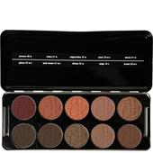 BEAUTY IS LIFE - Augen - Shadow Profi Set - Piment