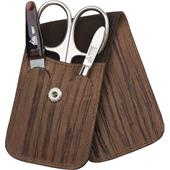 ERBE - Manicure sets - INOX Bamboo manicure pocket case, 3-piece