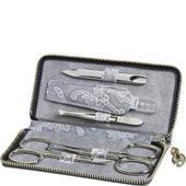 ERBE - Manicure tools - Floris Case, 5-Piece, Grey